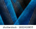blue and black geometric tech...   Shutterstock .eps vector #1832410855