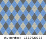 Argyle Pattern Seamless. Fabric ...