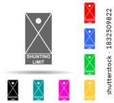shunting limit multi color...