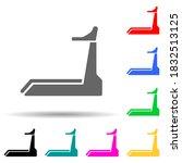treadmill multi color style...