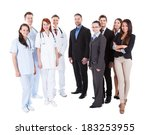 large ground of doctors and... | Shutterstock . vector #183253955