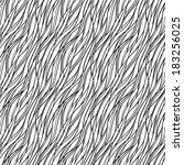 seamless abstract pattern waves ... | Shutterstock . vector #183256025