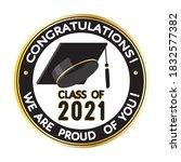 congratulations  graduates...   Shutterstock .eps vector #1832577382