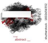 grungy abstract banner....   Shutterstock .eps vector #1832656552