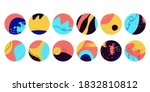 highlights covers set. modern... | Shutterstock .eps vector #1832810812