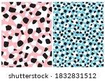 cute geometric seamless vector... | Shutterstock .eps vector #1832831512