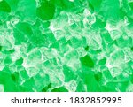 Green Calcite Mineral Seamless...