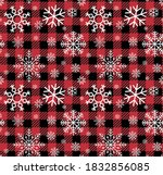 Christmas And New Year Pattern...