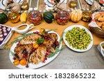 Thanksgiving Dinner. Turkey...