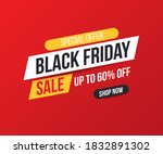 concise banner for sales and... | Shutterstock .eps vector #1832891302