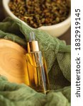 Natural Cosmetic Oil In A Glass ...