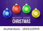 merry home christmas concept....   Shutterstock .eps vector #1833133945