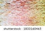 rough empty brick wall texture...   Shutterstock . vector #1833160465
