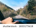 Autumn Route In Car Tour In The ...
