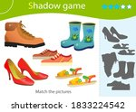 shadow game for kids. match the ...   Shutterstock .eps vector #1833224542