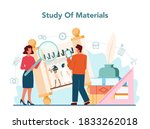 tour vacation guide concept.... | Shutterstock .eps vector #1833262018