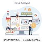 trend watcher concept....   Shutterstock .eps vector #1833263962