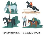 People Riding Horses  Sports Of ...