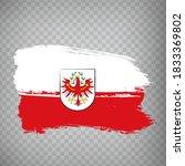 flag of tyrol brush strokes....