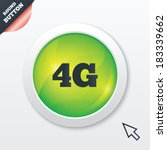 4g sign icon. mobile...