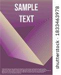 minimum geometric coverage. ... | Shutterstock .eps vector #1833463978