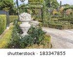 buen retiro park   park of... | Shutterstock . vector #183347855