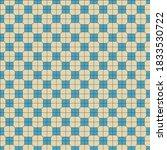 blue and light yellow seamless... | Shutterstock .eps vector #1833530722