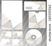 corporate business templates... | Shutterstock .eps vector #183355562