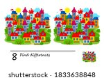 find 8 differences....   Shutterstock .eps vector #1833638848