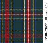 Classic Scottish Tartan Design. ...