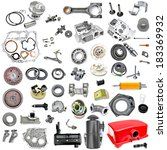 Spare Parts In Disassembled...
