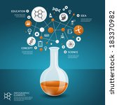 background,beaker,brochure,bulb,chemical,chemistry,concept,conceptual,creative,description,design,discovery,dna,education,element