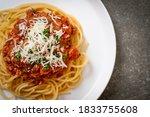 Spaghetti Bolognese Pork Or...