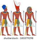 vector illustration of ancient... | Shutterstock .eps vector #183379298