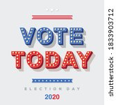 Vote Today 2020 Icon  Vector...