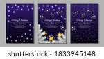 set of banners for merry... | Shutterstock .eps vector #1833945148