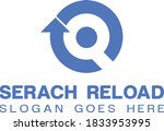 search reload logo design ... | Shutterstock .eps vector #1833953995