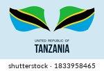 tanzania flag state symbol...