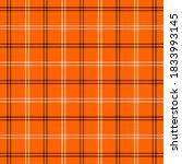 halloween tartan plaid....   Shutterstock .eps vector #1833993145