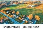 Aerial View Of Pennsylvania...