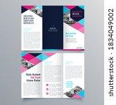brochure design  brochure... | Shutterstock .eps vector #1834049002