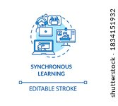 Synchronous Learning Concept...