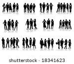 business people | Shutterstock .eps vector #18341623