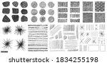 doodles set. scribble...   Shutterstock .eps vector #1834255198