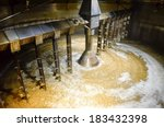 detail of inside mash tun while ... | Shutterstock . vector #183432398