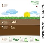 modern ecology design template | Shutterstock .eps vector #183439898