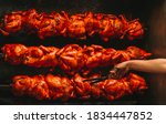 Delicious And Juicy Rotisserie...