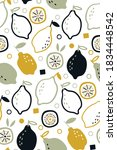 seamless pattern with fresh... | Shutterstock .eps vector #1834448542