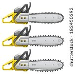 chain saw | Shutterstock .eps vector #183450392
