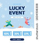 various events in the cold... | Shutterstock .eps vector #1834508308